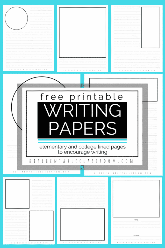 Iu0027m A Home School Mom So Making Sure My Four Kids Are Fluent Writers  Free Printable Writing Paper