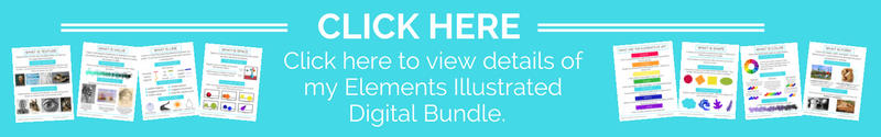 The Elements of Art Digital Resource bundle offers a huge amount of printable resources and posters to help you teach about the elements of art the easy, no prep way!