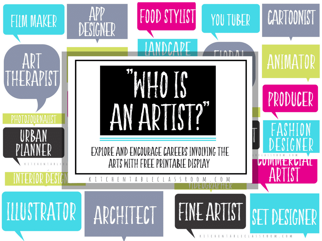 Art Jobs : Looking at jobs in the arts printable resources