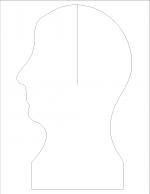 3D portrait profile png 1