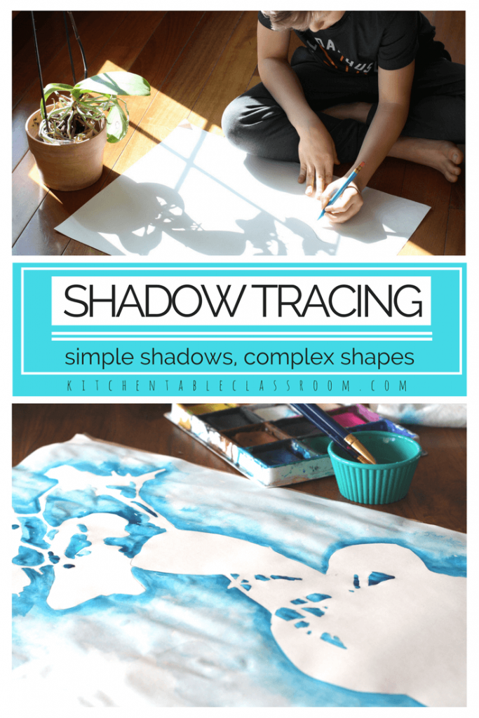 Shadow Drawing An Experience In Positive And Negative Shapes The
