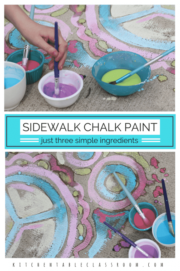 chalk paint for kids