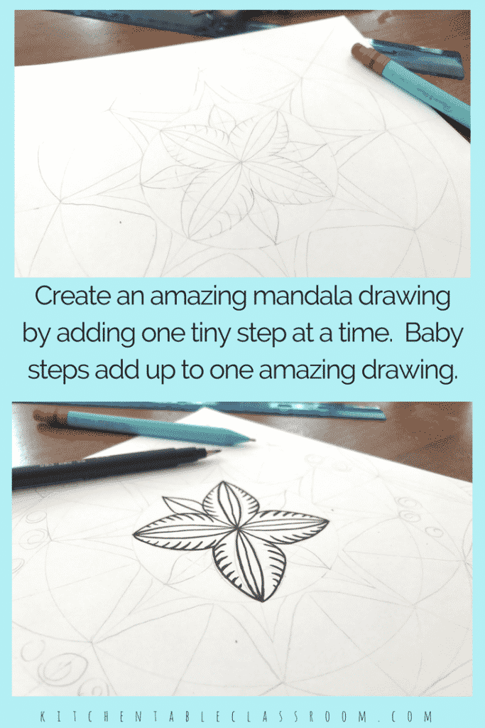 Use the free mandala template to draw mandala designs that look deceptively complex. Mandalas for kids (or any age) can be easy and fun!