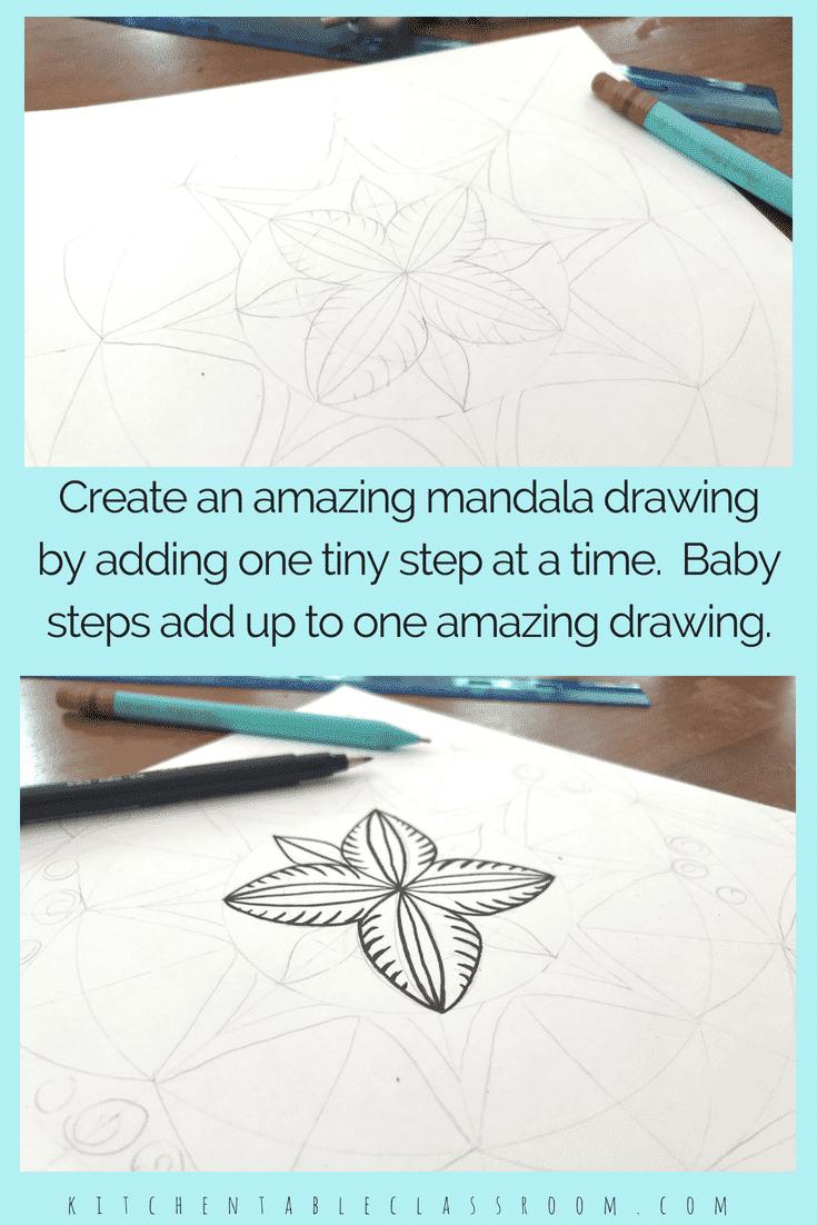 mandala draw collage 2 tiny - The Kitchen Table Classroom