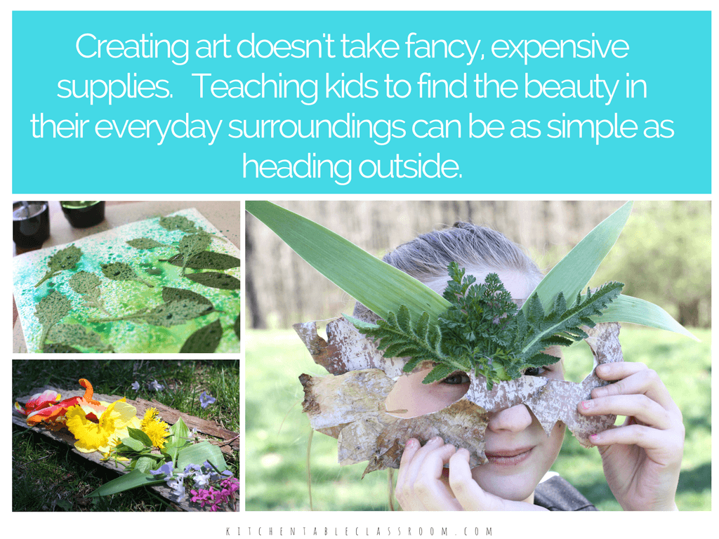 "Art Experiences Outdoors is an e-book that delivers 24 hands on, simple, but engaging ""big art ideas"" to keep your kids busy all season long. Hands on art inspired by and and made in nature allows your kid to think big, move big, and be free to create! Perfect for scouts, summer camps, or day camps!"