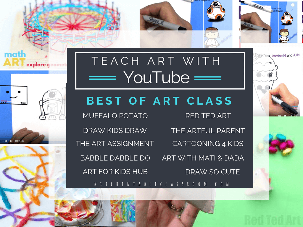 226b9f8cfd The Best Art YouTube Channels for Kids - The Kitchen Table Classroom