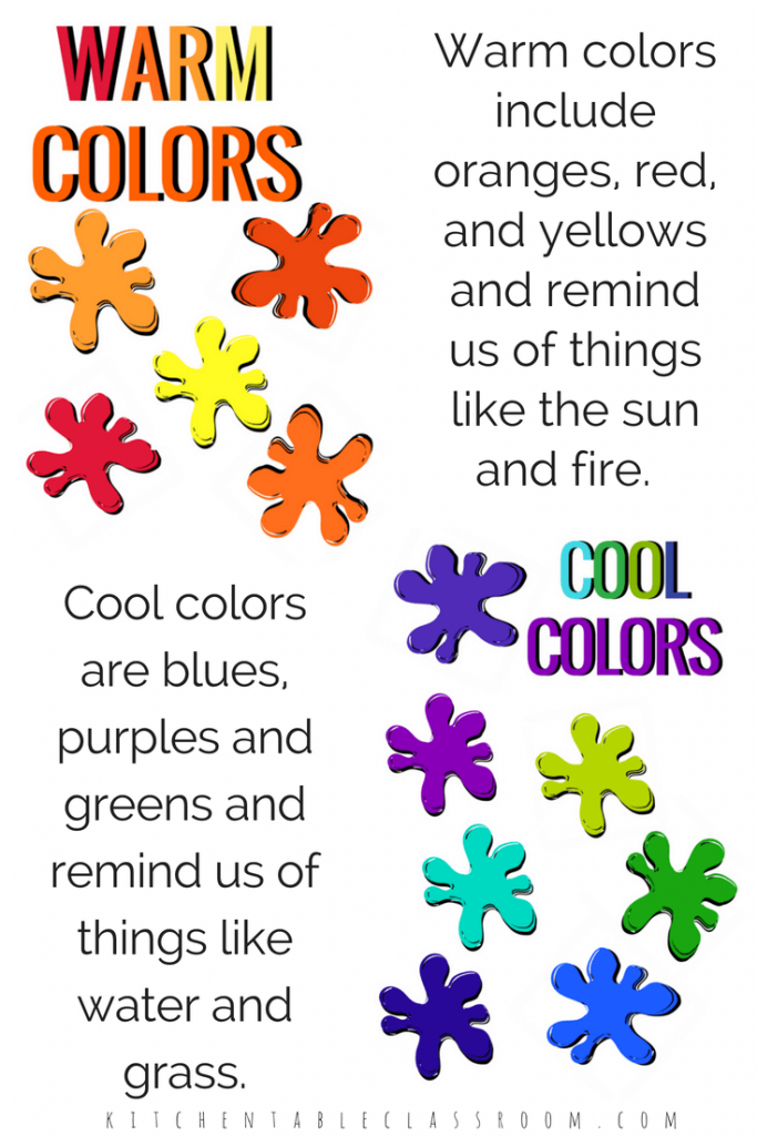 image relating to Printable Colors referred to as Schooling Hues- Absolutely free Printable Bulletin Board Show