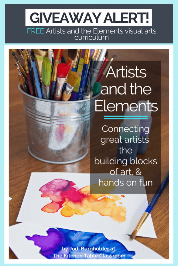 Visual Art Curriculum Bundle Giveaway {$75 value}
