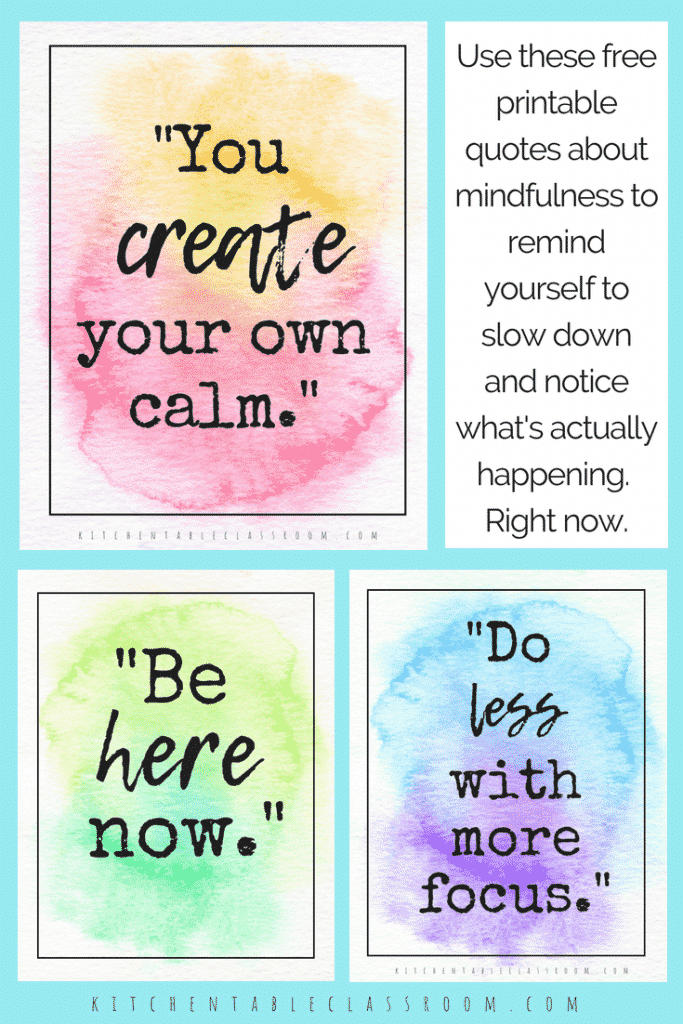 Being mindful & present in the moment can be tricky when life gets crazy. Use these quotes about mindfulness to remind yourself to take a breath and relax.