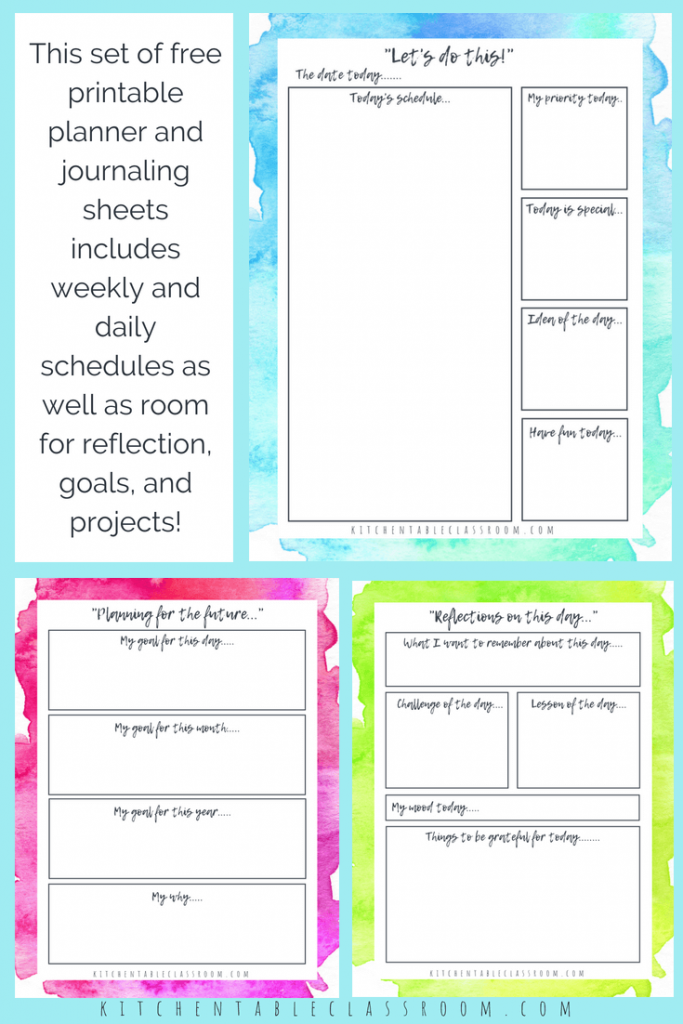 It's just an image of Free Personal Planner Printables intended for free digital daily