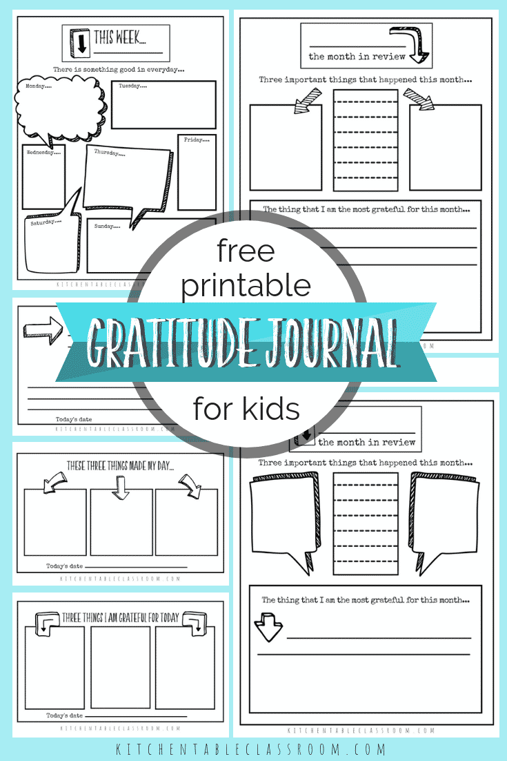 gratitude journal for kids gratitude journal prompt gratitude