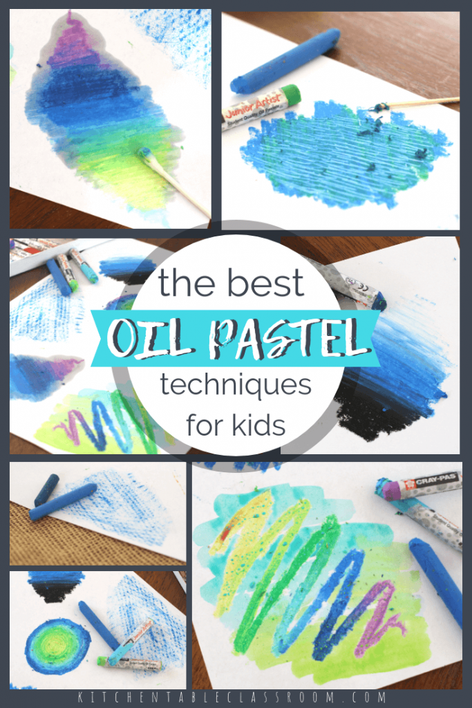 Use these fun oil pastel techniques to add texture, color, and interest to any kid's art project! Here are eight different ways to use oil pastel crayons!