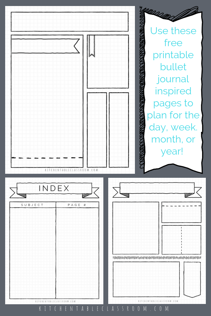 picture regarding Printable Journal Pages Pdf named bullet magazine printables bullet magazine template bullet