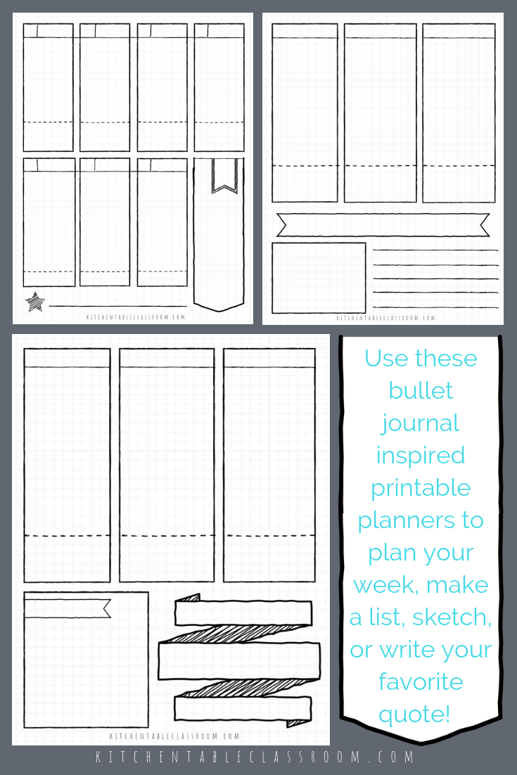 photo about Printable Journal Pages Pdf called bullet magazine printables bullet magazine template bullet