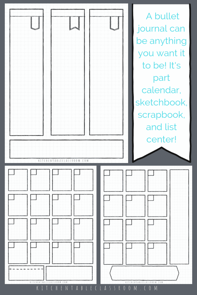 photo regarding Bullet Journal Pages Printable identify Bullet Magazine Printables-17 Cost-free Bullet Magazine Templates