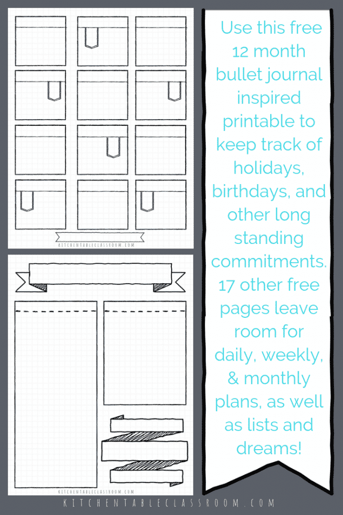 image regarding Printable Journals titled Bullet Magazine Printables-17 Totally free Bullet Magazine Templates