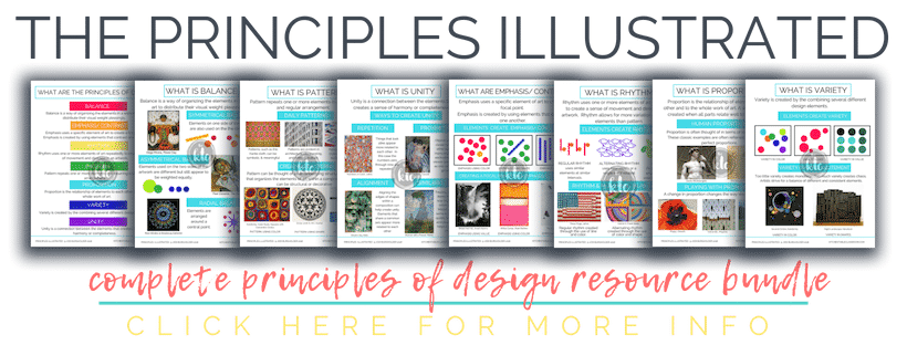 The Principles Illustrated is a huge bundle of digital resources designed to make teaching about the principles of design easy!