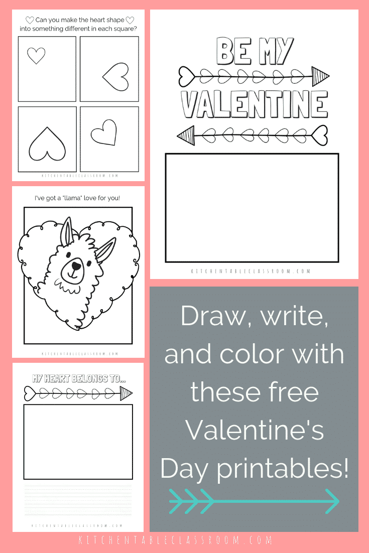 valentines day coloring pages valentines day printable 2 ...
