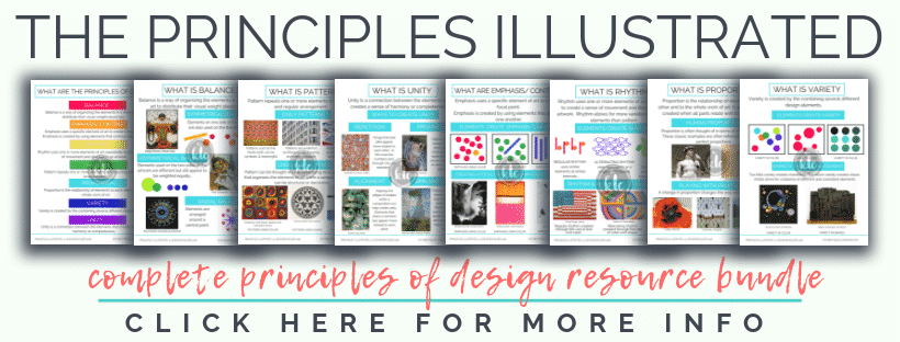 The Principles Illustrated is a huge bundle of digital resources designed to make teaching the principle of design easy and fun!