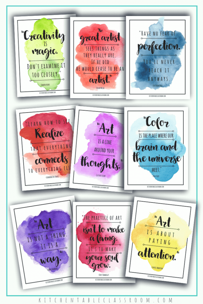102 inspirational quotes for teachers are perfect for home or classroom use. Quotes about education, learning, & creativity will inspire your young people!