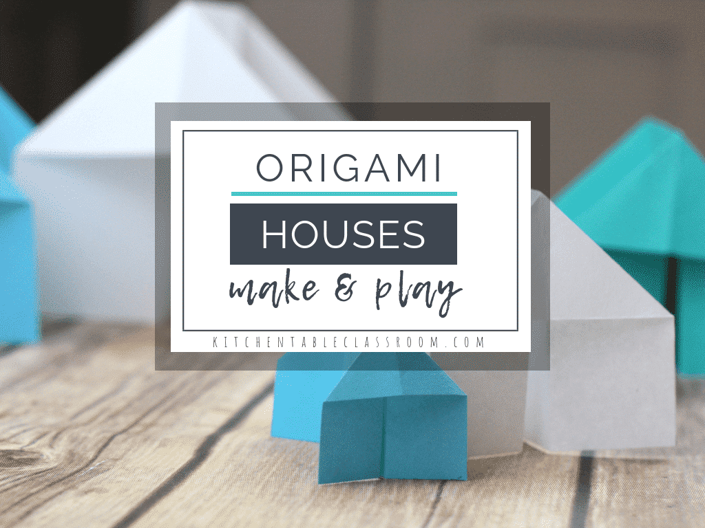 How to make Origami House | STEM Little Explorers | 768x1024