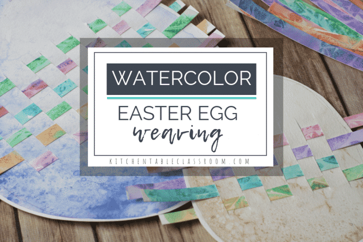 This painted Easter egg weaving is made extra special by two simple watercolor techniques. Celebrate spring while learning basic weaving skills.