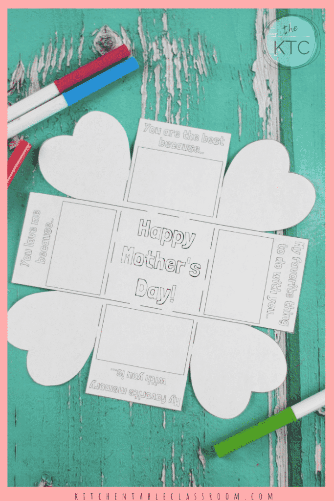 photo about Printable Mothers Day Cards for Kids referred to as A No cost \
