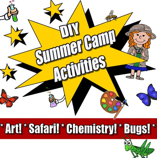Keep your preschooler busy and learning all summer long with these DIY summer camp activities!