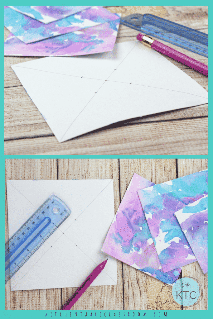Learn how to make pinwheels with these easy paper pinwheel templates. Upcycle your kid's artwork, use scrapbook paper, or draw your own paper pinwheels!