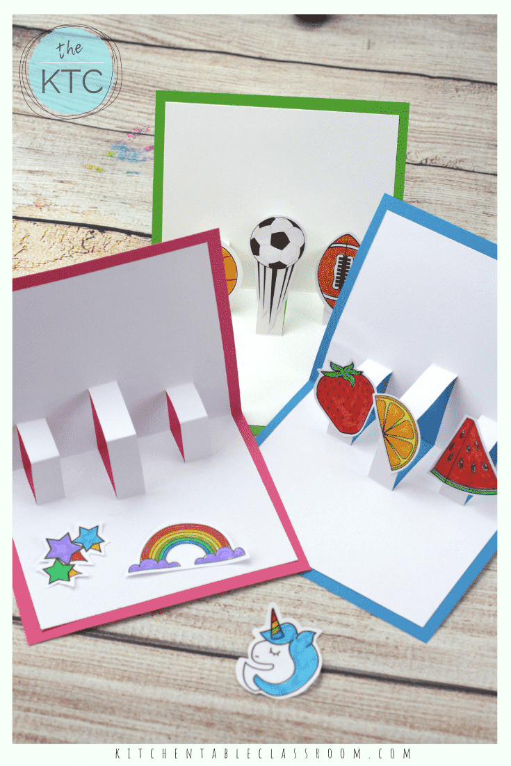 how to make pop up cards 3d cards templates for pop up ...
