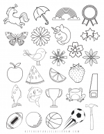 pop up card icons