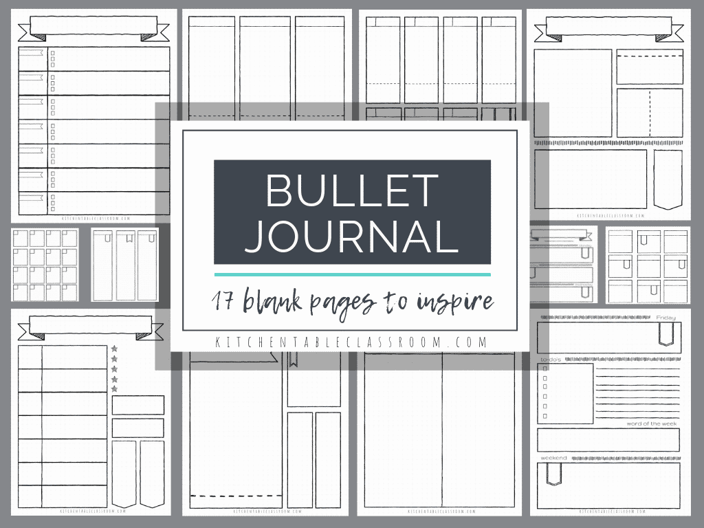image regarding Bullet Journal Key Printable identified as Bullet Magazine Printables-17 Cost-free Bullet Magazine Templates