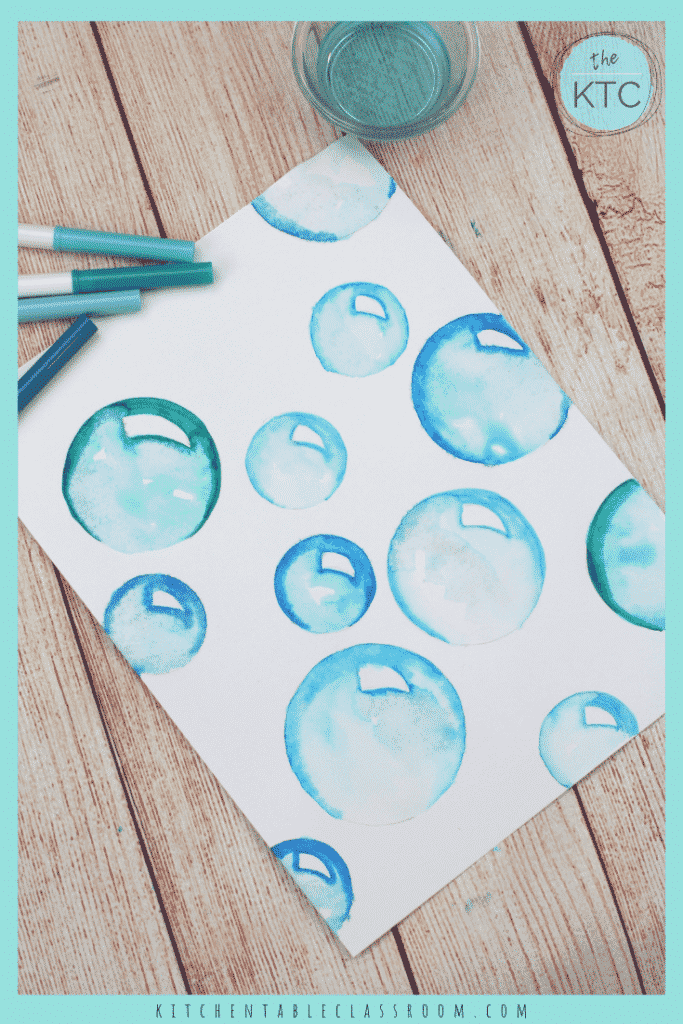Learn to draw bubbles using washable markers with this free video tutorial. Follow along for super simple, super realistic bubble drawings!