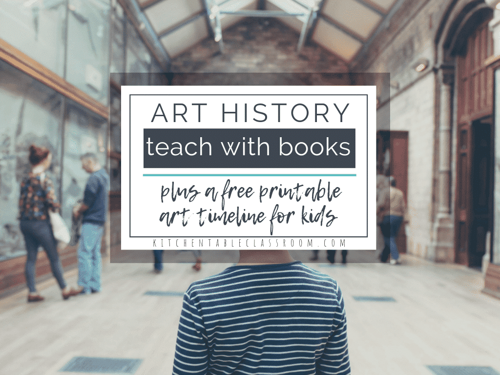 photograph relating to Art History Timeline Printable named Coaching Artwork Historical past during Childrens Literature with Totally free