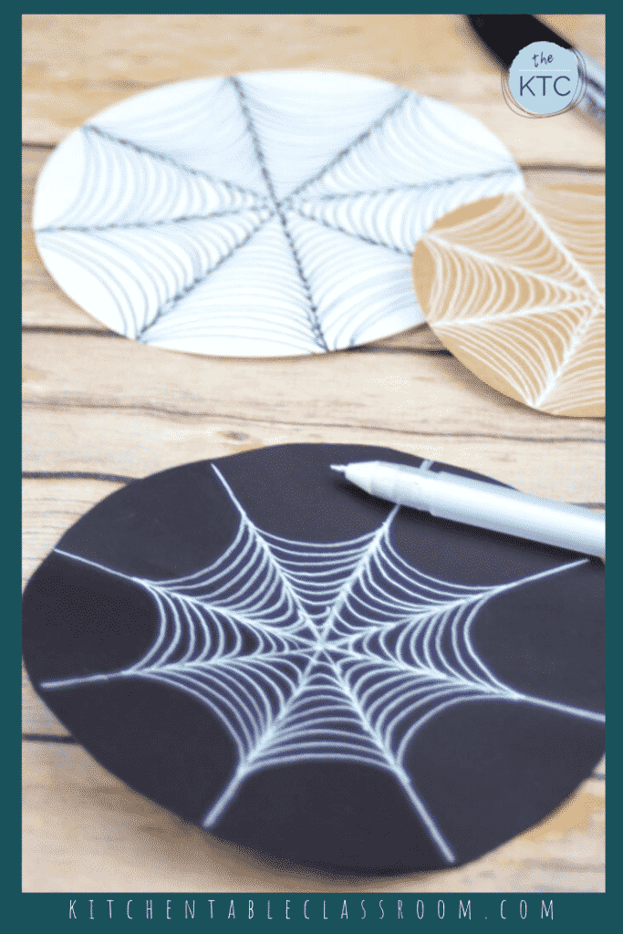 Learn how to draw a spider web with this free drawing tutorial.  A few simple tips and cues make a realistic and intricate spider web drawing easy!