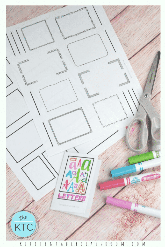 Learn how to make a book from a single piece of paper plus two free printable templates to make adorable single page books perfect for any subject!