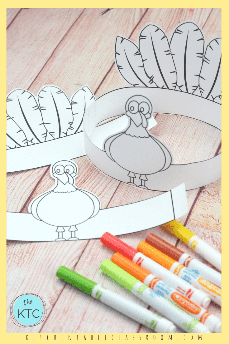 turkey headband thanksgiving crafts for kids 1 - The ...
