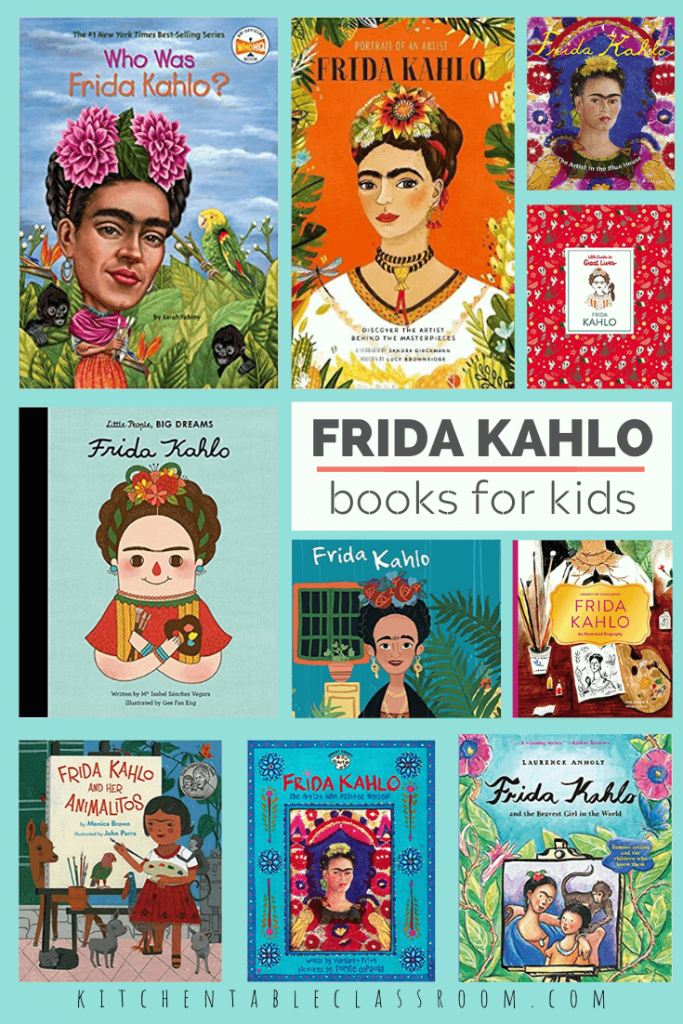 Frida Kahlo books for kids