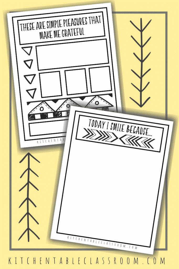 Help your kids focus on the good in their lives with these gratitude sketchbook prompts. Draw or write about the positive with these gratitude prompts for kids.