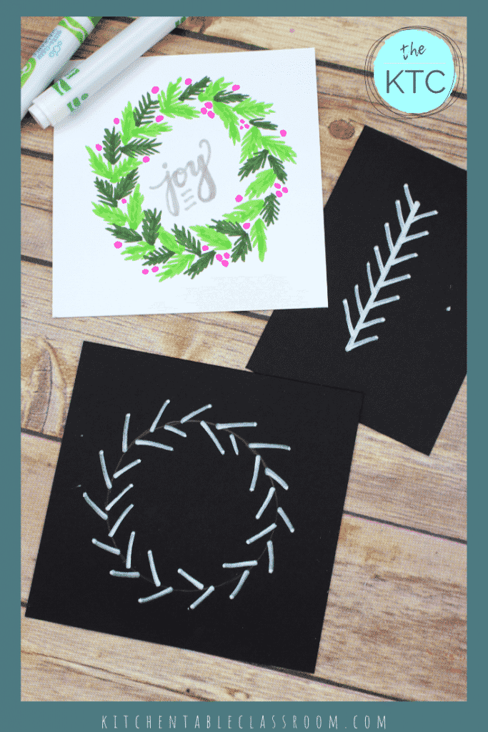 Follow along with my wreath drawing in this free video tutorial. Small, easy steps create a finished wreath drawing perfect for a special holiday gift!