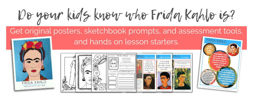 Teach about Frida Kahlo with these digital Frida Kahlo resources