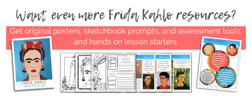 Frida Kahlo resources for kids