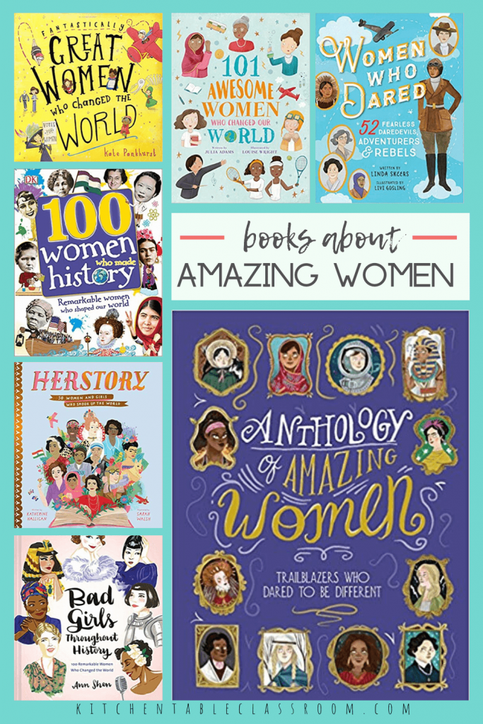 books about amazing women in history