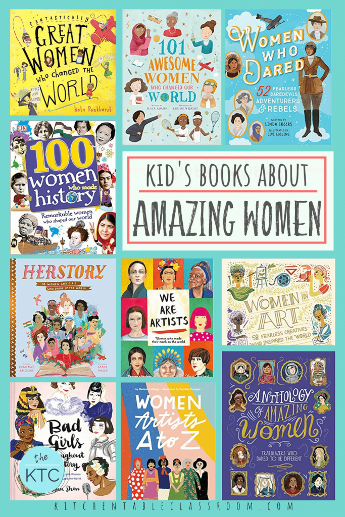 kids books about great women in history