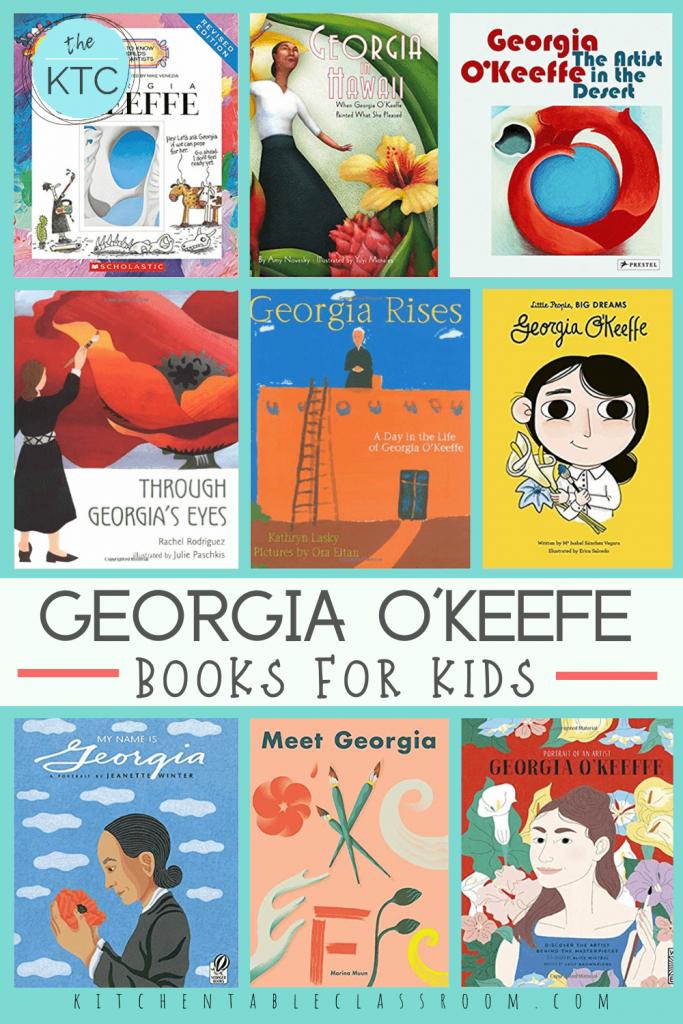 kid's books about Georgia O'Keefe