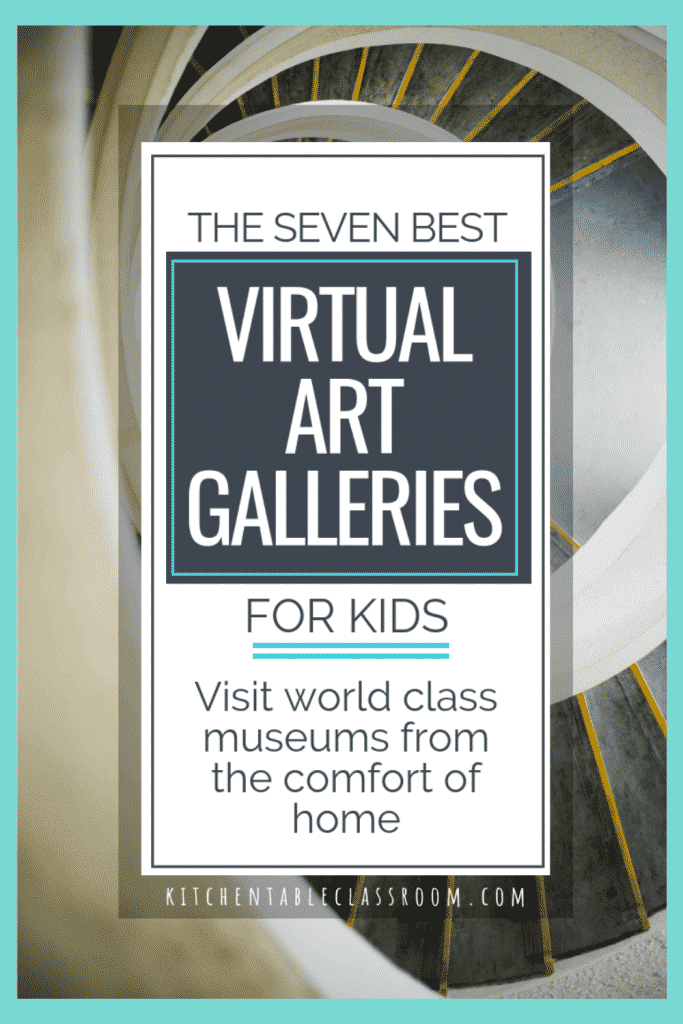 list of best virtual art gallery tours for kids