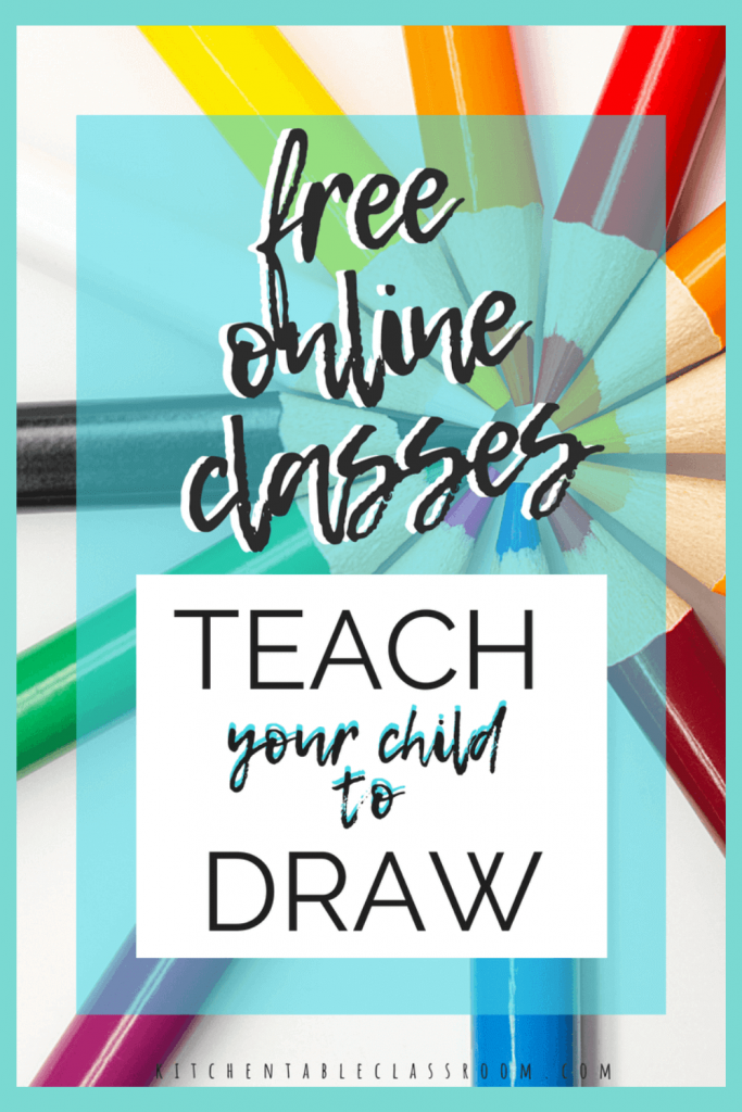 list of free online drawing classes for kids