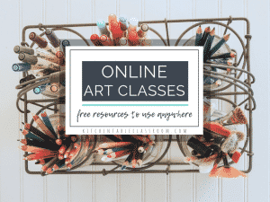 list of free online art classes for kids