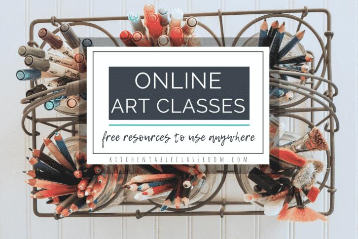 list of free online art classes for kids