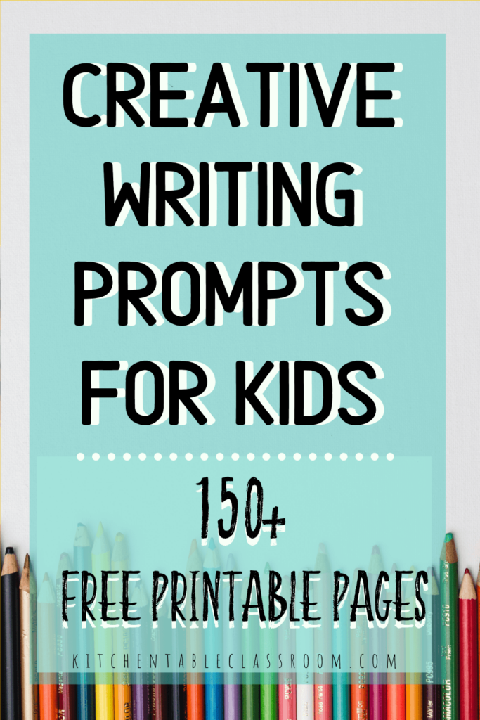 Over 150+ pages of free printable writing prompts for kids!